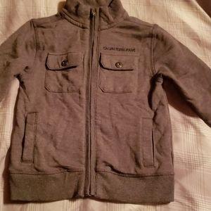 Calvin Klein zip up sweater jacket